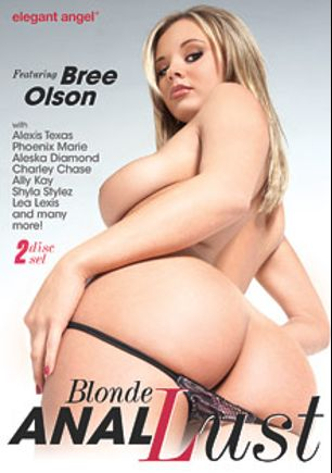 Blonde Anal Lust, starring Bree Olson, Aleska Diamond, Ally Kay, Amy Brooke, Lea Lush, Phoenix Marie, Charley Chase, Alexis Texas, James Deen, L.T. Turner, Courtney Taylor, Mick Blue, Manuel Ferrara, Sasha Knox, Shyla Stylez, Mr. Pete and Julia Ann, produced by Elegant Angel Productions.