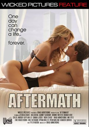Aftermath, starring Jessica Drake, Chloe Amour, Tyler Nixon, Bonnie Rotten, Remy LaCroix, Ryan McLane, Xander Corvus, Vicki Chase, Ryan Driller, Brandi Love, Asa Akira, Sarah Jessie, Aubrey Addams, Kaylani Lei, Mr. Pete, Erik Everhard, Brad Armstrong and Eric Masterson, produced by Wicked Pictures.