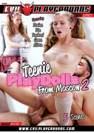 "Featured Studio - Evil Playgrounds presents the adult entertainment movie ""Teenie Playdolls From Moscow 2""."