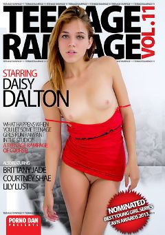 "Adult entertainment movie ""Teenage Rampage 11"" starring Daisy Dalton, Lily Lust & Courtney Shea. Produced by Porno Dan Presents."