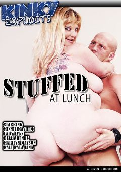 "Adult entertainment movie ""Stuffed At Lunch"" starring Minnie Mayhem, Lady Lynn & Marilyn Mayson. Produced by CX WOW Production."