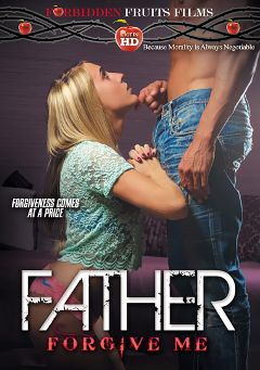 "Adult entertainment movie ""Father Forgive Me"" starring Cadence Lux, Jade Jantzen & Tony D.. Produced by Forbidden Fruits Films."