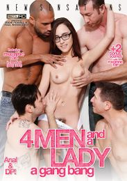 "Featured Category - Double Penetration presents the adult entertainment movie ""4 Men And A Lady: A Gang Bang""."