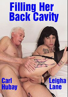 Filling Her Back Cavity, starring Leigha Lane and Carl Hubay, produced by Hot Clits Video.