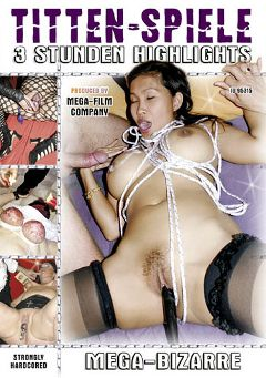 "Adult entertainment movie ""Titten-Spiele"". Produced by MEGA-FILM."