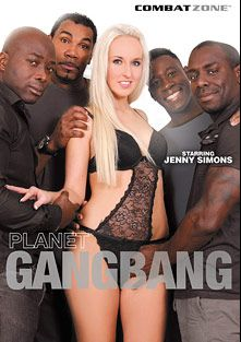 Planet Gang Bang, starring Jenny Simons, Amelie, Joss Lescaf, Denis Reed, Joachim Kessef and Franco Roccaforte, produced by Combat Zone.