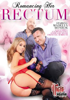 "Adult entertainment movie ""Romancing Her Rectum"" starring Madelyn Monroe, Courtney Loxxx & Flynt Dominick. Produced by Illicit Behavior."