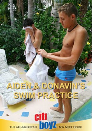 Aiden And Donavin's Swim Practice, starring Aiden Shay and Donavin Fitch, produced by CitiBoyz.