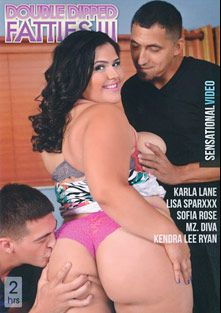 Double Dipped Fatties 3, starring Karla Lane, Kendra Lee Ryan, Donny Sins, Johnny Champ, Sofia Rose, Steve Dash, Bruno Dickems, Mz. Diva, Juan Largo, Asante Stone and Lisa Sparxxx, produced by Sensational Video.