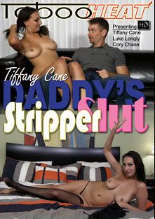 Tiffany Cane In Daddy's Stripper Slut, starring Tiffany Cane, Luke Longly and Cory Chase, produced by Taboo Heat.