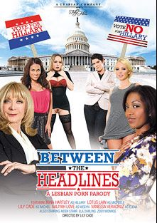 Between The Headlines, starring Lotus Lain, Vanessa Veracruz, Aaliyah Love, Lily Cade, Aiden Starr, Nina Hartley, Zoey Monroe and Ela Darling, produced by Filly Films.