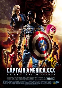 "Adult entertainment movie ""Captain America XXX An Axel Braun Parody"" starring Kleio Valentien, Jessica Ryan & Phoenix Marie. Produced by Vivid XXX Super Heroes."