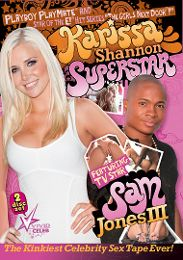 "Featured Category - Black Dicks/White Chicks presents the adult entertainment movie ""Karissa Shannon Superstar""."