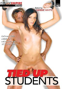 "Adult entertainment movie ""Tied Up Students"" starring Debbie White, Midori Tanaka & Victoria Tiffani. Produced by Gothic Media."