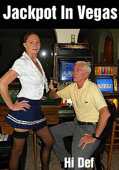 "Adult entertainment movie ""Jackpot In Vegas"" starring Tracy & Carl Hubay. Produced by Hot Clits Video."
