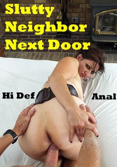 "Adult entertainment movie ""Slutty Neighbor Next Door"" starring Connie (Hot Clits) & Carl Hubay. Produced by Hot Clits Video."