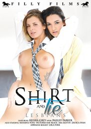 """Featured Studio - Filly Films presents the adult entertainment movie """"Shirt And Tie Lesbians""""."""