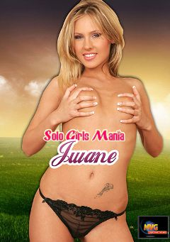 "Adult entertainment movie ""Solo Girls Mania: Jwane"" starring Jwane. Produced by MVG Productions."