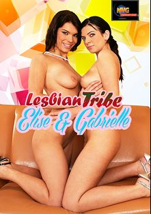 Lesbian Tribe: Elise And Gabrielle, starring Gabrielle Della Moon and Elise, produced by MVG Productions.