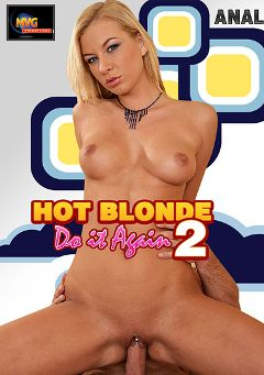 "Adult entertainment movie ""Hot Blonde Do It Again 2"" starring Angelina Love & Rudy Strong. Produced by MVG Productions."