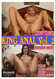 King Anal 2, starring Jennifer White, Mina Lee, Missy Stone, Holly Wellin, Heather Gables and Tom Byron, produced by Sinister TV.