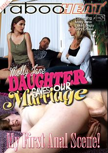 Molly Jane In Daughter Saves Our Marriage, starring Cory Chase, Molly Jane and Luke Longly, produced by Taboo Heat.