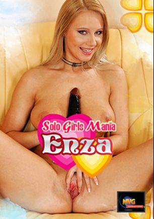Solo Girls Mania: Enza, starring Jana K., produced by MVG Productions.