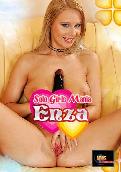 "Adult entertainment movie ""Solo Girls Mania: Enza"" starring Jana K.. Produced by MVG Productions."