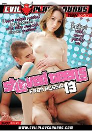 "Featured Studio - Evil Playgrounds presents the adult entertainment movie ""Shaved Teens From Russia 13""."