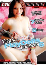 """Featured Studio - Evil Playgrounds presents the adult entertainment movie """"Teenie Playdolls From Moscow 6""""."""