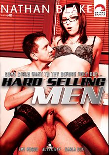 Hard Selling Men, starring Alysa Gap, Emy Russo and Carla Cox, produced by Gothic Media, Nathan Blake Productions and Sunset Media.