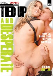 "Featured Star - Liza Del Sierra presents the adult entertainment movie ""Tied Up And Desperate""."