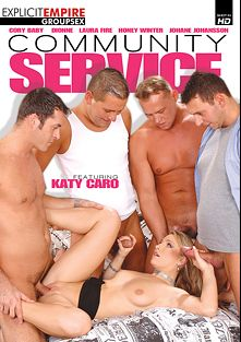 Community Service, starring Katy Caro, Laura Fire, Johane Johansson, Dionne, Honey Winter and Cory Baby, produced by Sunset Media, Gothic Media and Explicit Empire.