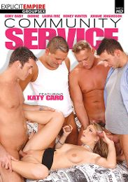 "Featured Category - Double Penetration presents the adult entertainment movie ""Community Service""."