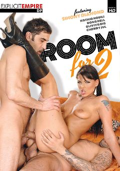 "Adult entertainment movie ""Room For 2"" starring Simony Diamond, Donna Bella & Roxy M.. Produced by Gothic Media."