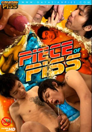 Piece Of Piss, starring Sim, Non, Wan (m), Stan, Lee (m), Am (m), Nat (m), Albert and Em (m), produced by Gay Asian Piss, Gay Asian Twinkz and CJXXX.