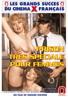 "Adult entertainment movie ""Special Prison For Women - French"" starring Christina Schwartz, Olinka & Lise Pinson. Produced by ALPHA-FRANCE."