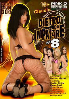 "Adult entertainment movie ""Dietro Da Impazzire 8"" starring Belicia Steele, Claudia Antonelli & Sarah Twain. Produced by Pinko Enterprises."