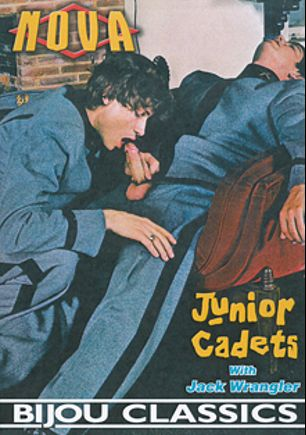 Junior Cadets, starring Bill, Jack Wrangler, Skip Davidson, Jim Lewis, Billie (m), Rick (Bijou), John (Bijou), Mike (Bijou), Tim (Bijou), Dana (m), Terry (m), Tom *, Bob (gay), Jeff, Mark and David, produced by Bijou Gay Classics and Nova.