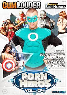 Porn Heros 4, starring Susi Gala, Galilea, Moisex (m), Juan Z, Noemi Jolye, Karen Barker and Nick Moreno, produced by Cum Louder.