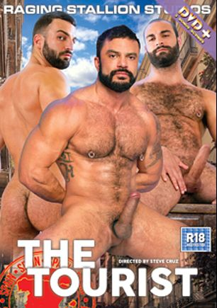 The Tourist, starring Abraham Al Malek, Rogan Richards, Paco, Alessio Veneziano, Dario Beck, Bruno Boni and Donato Reyes, produced by Raging Stallion Studios and Falcon Studios Group.