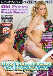 """Featured Studio - Lethal Hardcore presents the adult entertainment movie """"Drop Them Drawers Give Daddy Some Candy""""."""