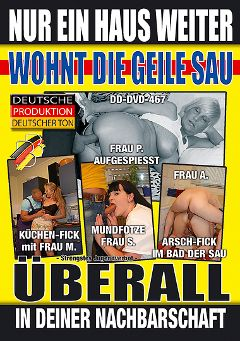 "Adult entertainment movie ""Nur Ein Haus Weiter"". Produced by BB Video."