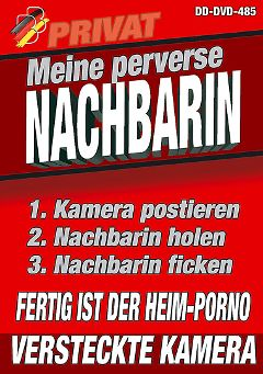 "Adult entertainment movie ""Meine Perverse Nachbarin"". Produced by BB Video."