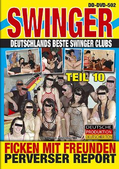 "Adult entertainment movie ""Swinger Report 10"". Produced by BB Video."