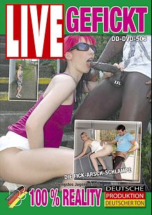 Live Gefickt, starring Jana Diskret, Mario van Belden, Kookie Ryan, Pornfighter Long John and Vicky, produced by BB Video.