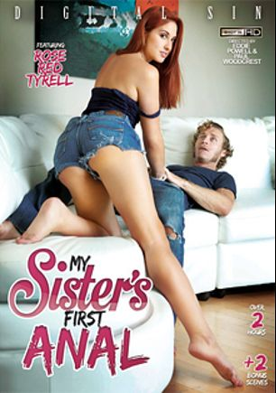 My Sister's First Anal, starring Rose Red, Miya Stone, Mandy Muse, Chase Ryder, Michael Vegas, Jordan Ash, Tommy Pistol and Erik Everhard, produced by Digital Sin.