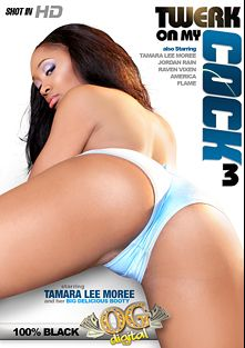 Twerk On My Cock 3, starring Raven Vixen, Flame (II), Jordan Rain and America, produced by OG Digital.