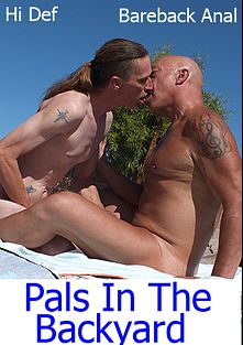 Pal In The Backyard, starring Rob Thomas (Hot Dicks Video) and Jude Marx, produced by Hot Dicks Video.