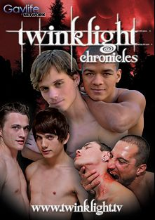 Twinklight Chronicles, starring Harry Cox, Jason Alcok, Johnny Sky, Conner Bradley, Mark Winters, Kane Hansen, Carson Evans, Wily Ryden, Giovanni Lovell and Shawn Fox, produced by PornPlays and GayLifeNetwork.